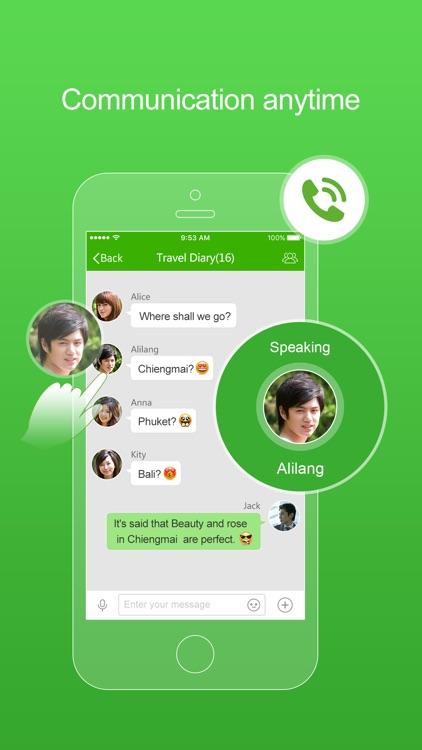 FreePP-Call Chat Message screenshot-3