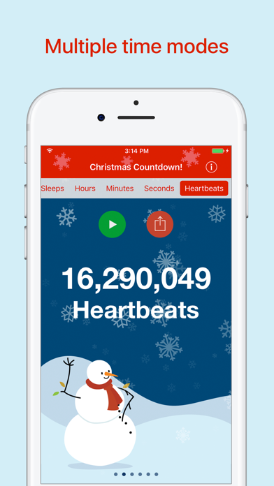 Christmas Countdown! screenshot three