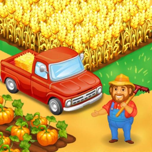 Farm Town: Happy farming Day Icon