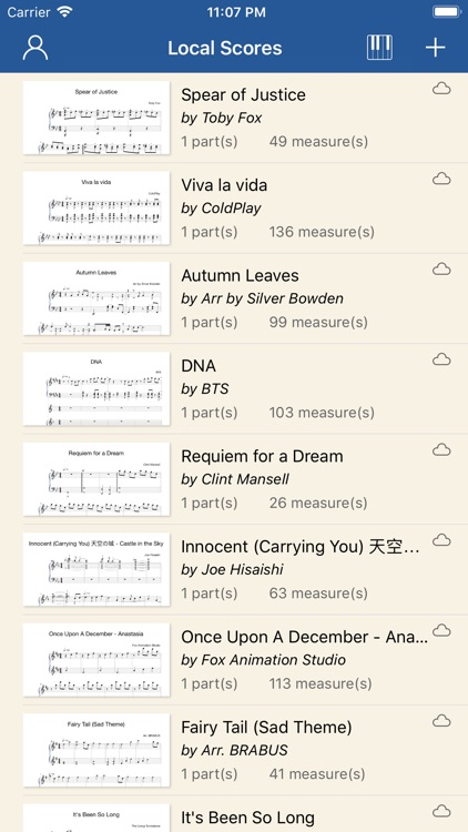 Notation Pad Pro - Sheet Music by Song Zhang