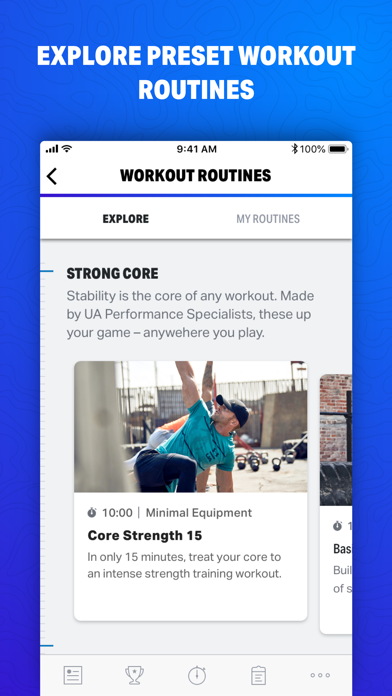 Map My Fitness by Under Armour screenshot one
