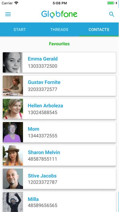 点击获取Globfone SMS Messenger