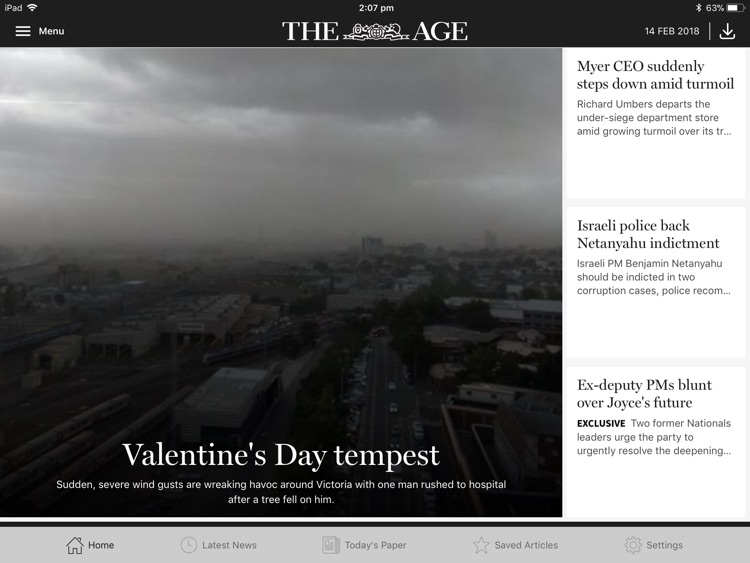 The Age for iPad screenshot-1
