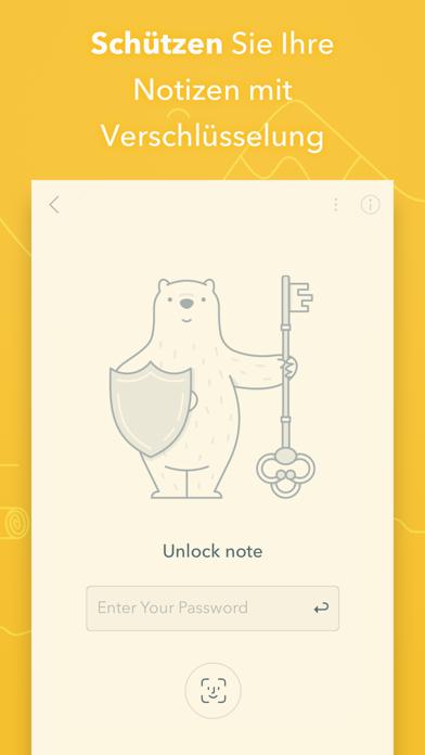 Bear - Private NotizenScreenshot von 3