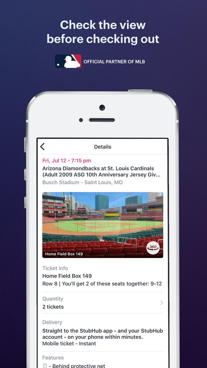 StubHub: Event Tickets - Revenue & Download estimates - Apple App Store - US