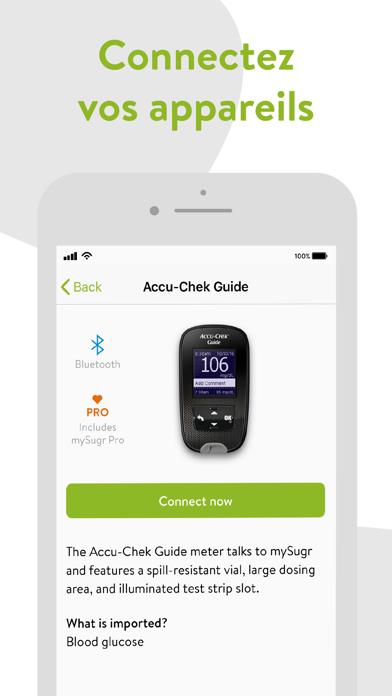 Screenshot #3 pour mySugr - App Carnet de Diabète