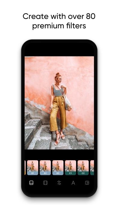 Instasize Photo Editor Screenshot on iOS