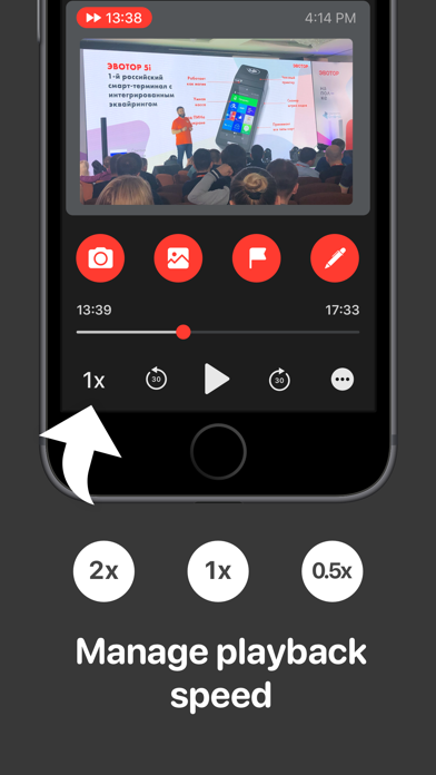 Lecty Pro – Audio with Notes Screenshot