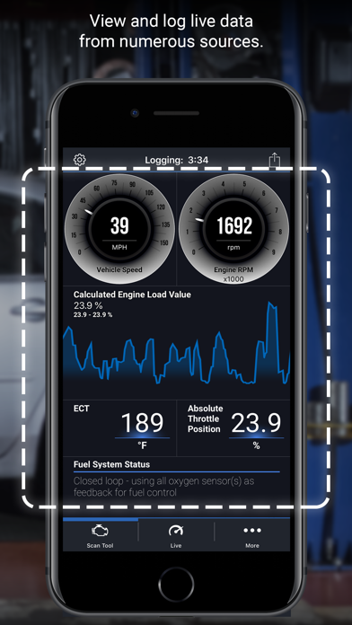 BlueDriver OBD2 Scan Tool by Lemur Vehicle Monitors (iOS