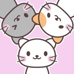 にゃんこステッカー【 基本 】