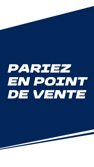 Screenshot #1 pour ParionsSport Point De Vente®