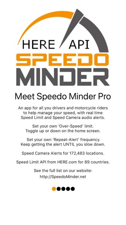 Speed Alerts Speedo Minder Pro screenshot-6