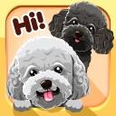 Toy Poodle Dog Emojis Stickers