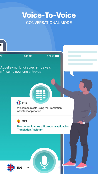 翻訳アシスタント : 翻訳アプリのおすすめ画像3