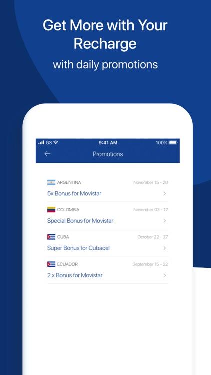 MobileRecharge: Top up mobiles screenshot-4