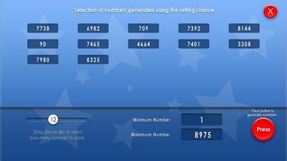 Random Number Suite screenshot four