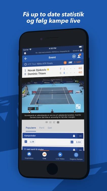Oddset - betting på live sport screenshot-3