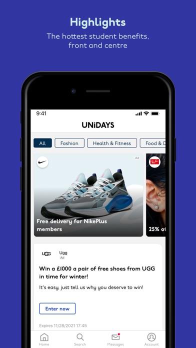 UNiDAYS: Student Discounts screenshot two