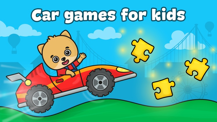 Car games for kids & toddlers screenshot-0