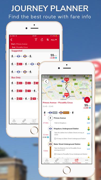Screenshot #3 pour London Live Bus Countdown
