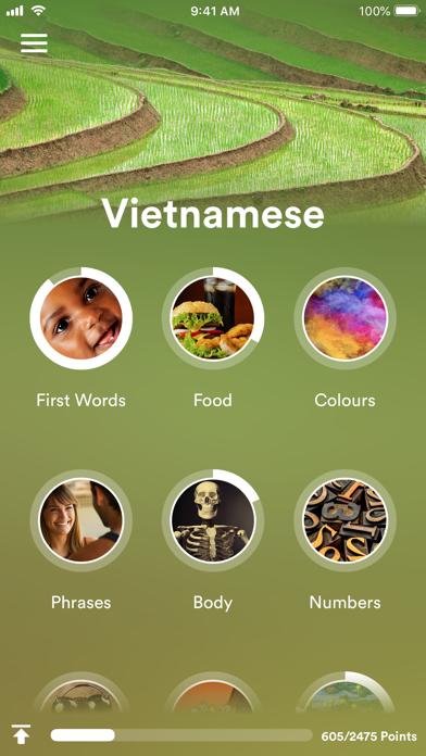 Learn Vietnamese - EuroTalk screenshot one