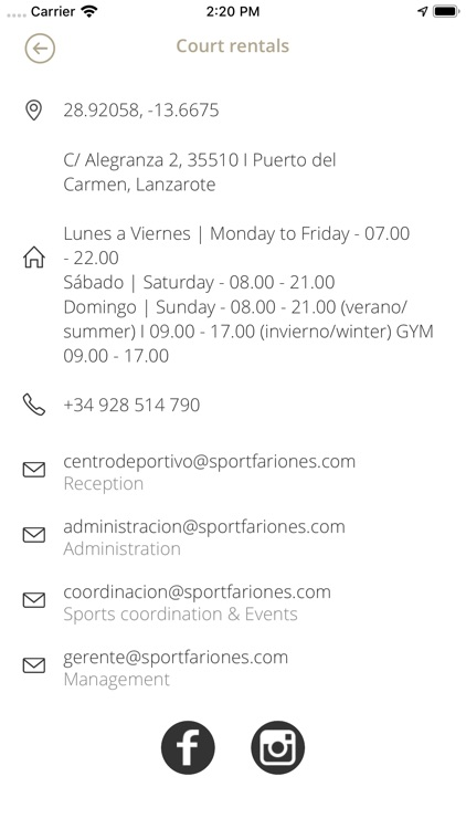 Centro Deportivo Fariones screenshot-3