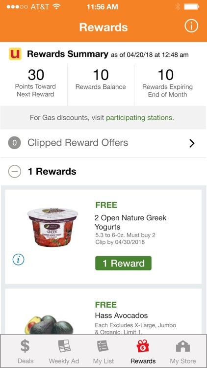 Shaw's Deals & Rewards screenshot-3