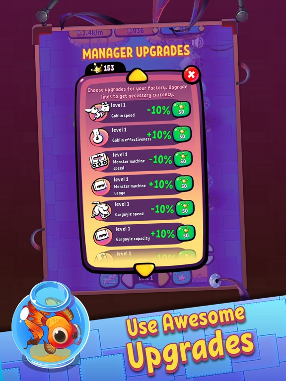 Idle Monster Factory screenshot 10