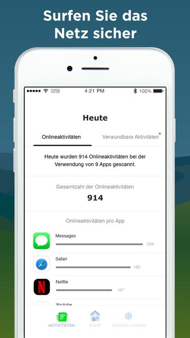 Phone Guardian - DatenschutzScreenshot von 4