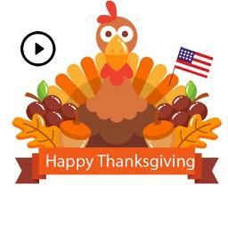 Happy Turkey Day Stickers