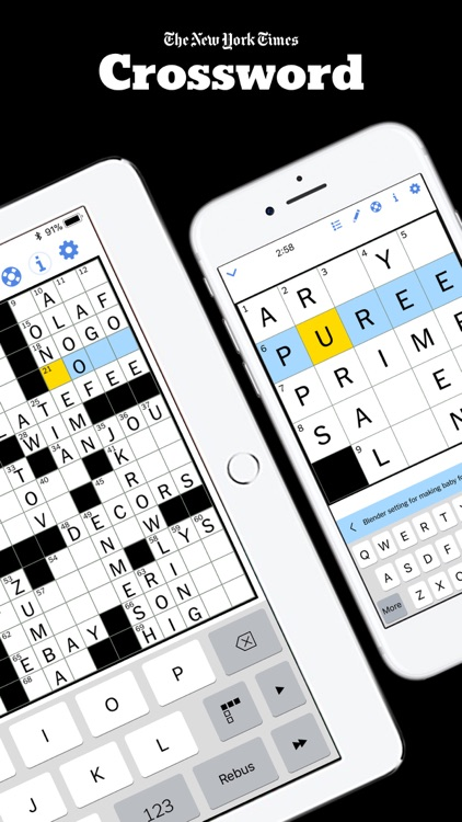 New York Times Crossword screenshot-0