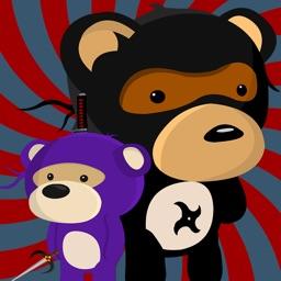 Ninja Bear: Slingshot Shooter