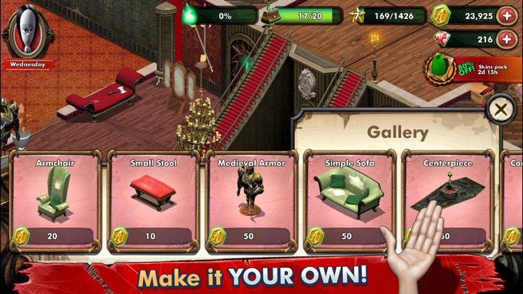 Addams Family: Mystery Mansion screenshot-4