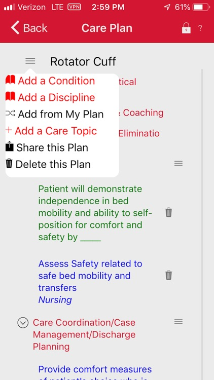 Home Health Care Planning screenshot-4