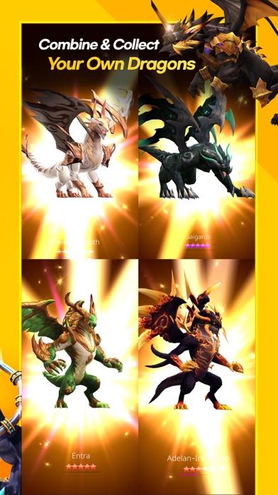 Screen Shot DragonSky : Idle & Merge 4