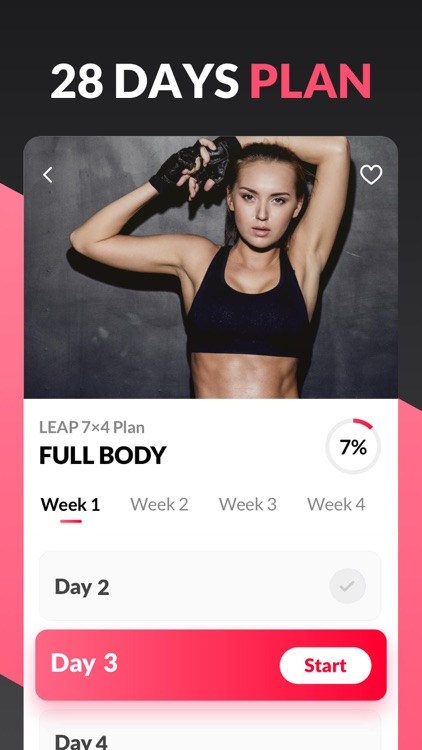 Workout for Women. Fitness App