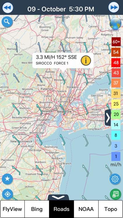 Wind forecast for Windgurus screenshot-8