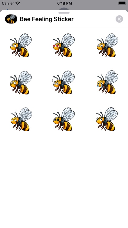 Bee Feeling Sticker