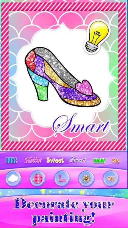 Glitter Fashion Art Coloring