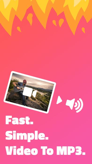 Video to MP3 Audio Extractorのおすすめ画像1