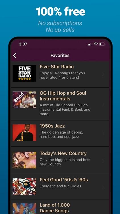 AccuRadio: Curated Music Radio screenshot-7