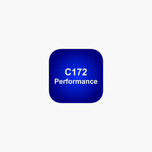 C172 Performance on the App Store