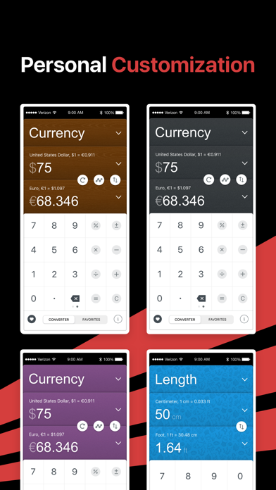 GlobeConvert Currency & Unit iPhone