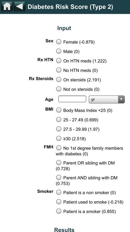 EBMcalc Endocrine screenshot-4
