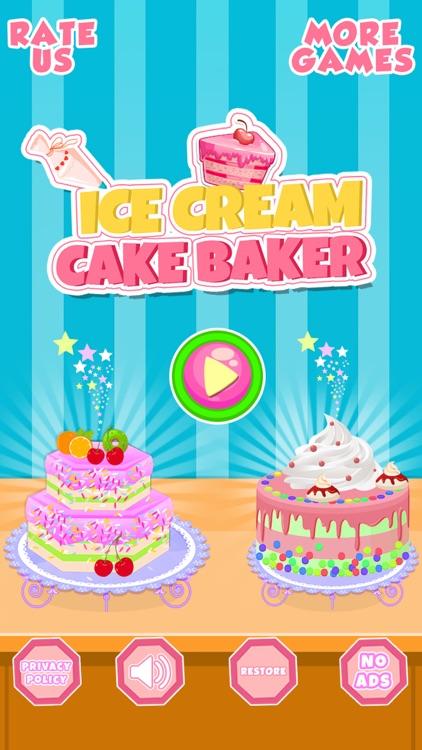 Ice Cream Cake Baker Shop screenshot-0