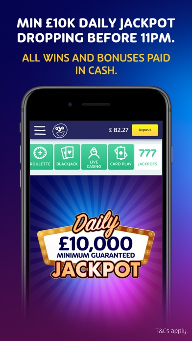 Play Casino Games at PlayOJO screenshot two