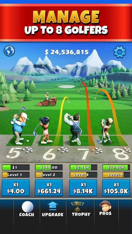 Idle Golf Tycoon screenshot-0