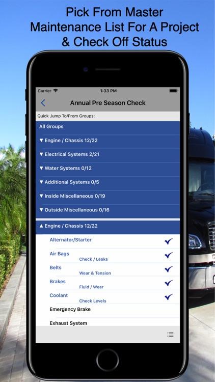 RV Checklist screenshot-5