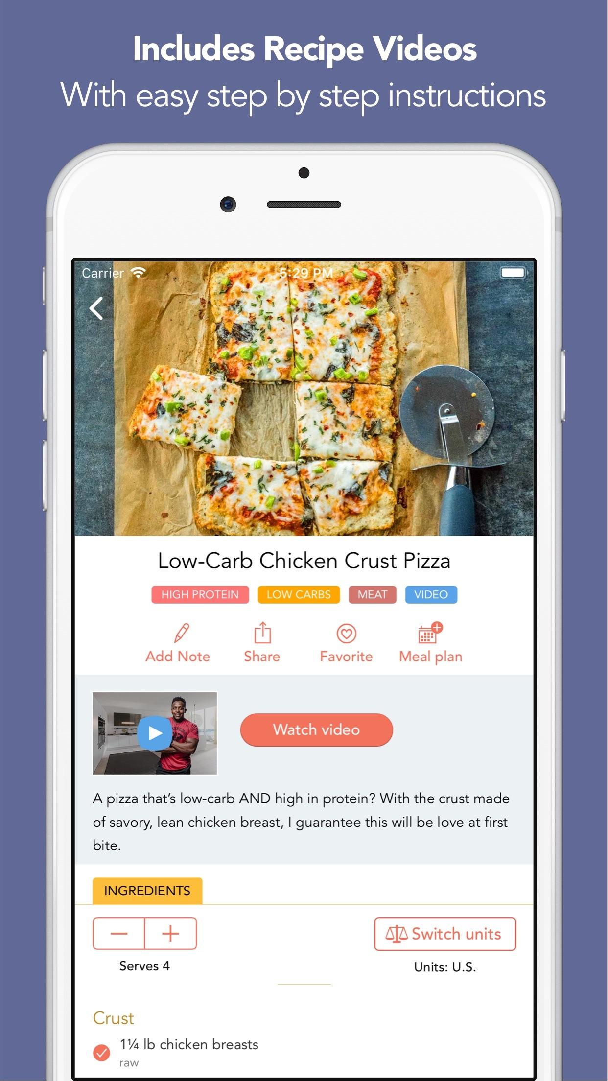 Fit Men Cook - Healthy Recipes Screenshot