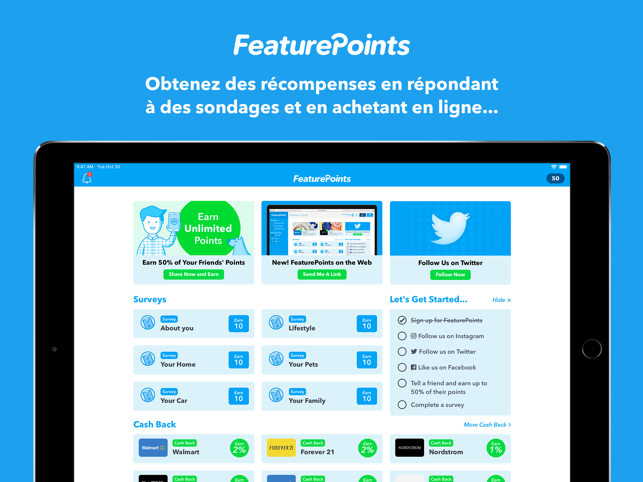 ‎FeaturePoints Capture d'écran